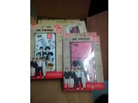 Joblot of 10x One Direction iPhone 5c phone cases, all new and packaged
