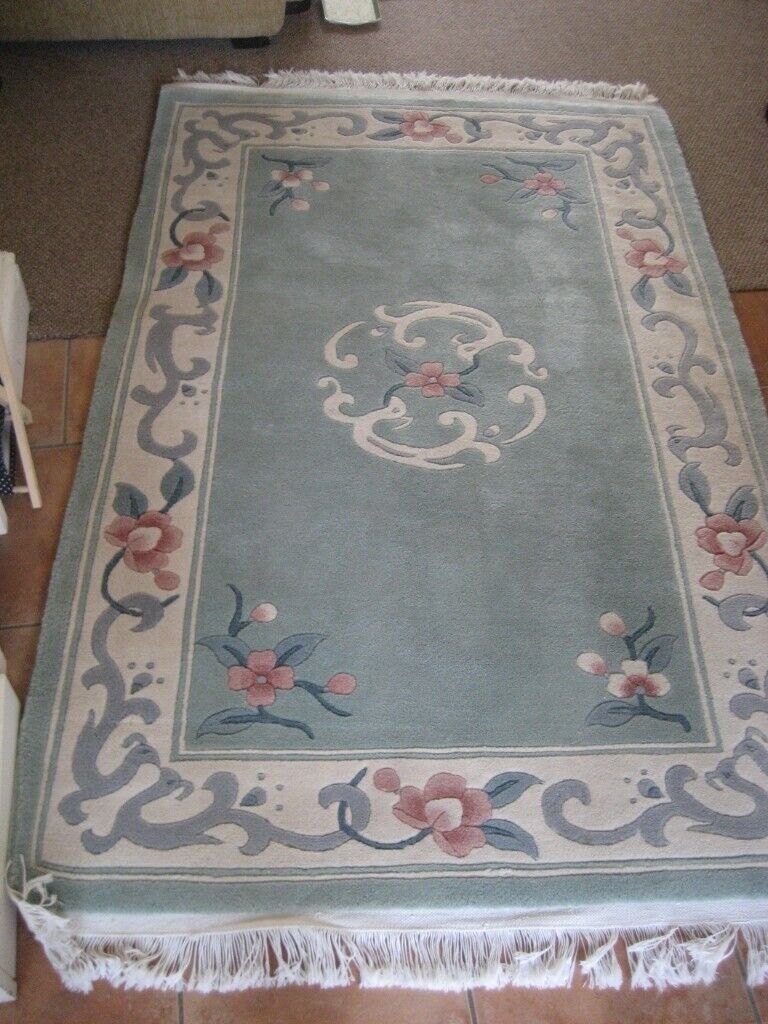 LARGE CHINESE RUG 6 FOOT LONG | in