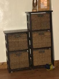 2 sets shocker basket storage