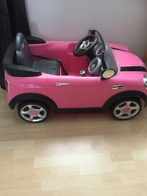 Battery operated kids Mini Cooper