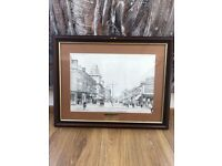 Pencil framed print picture corporation road 1910
