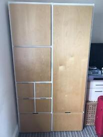 Multi draw wardrobe (shelves and hanging space)