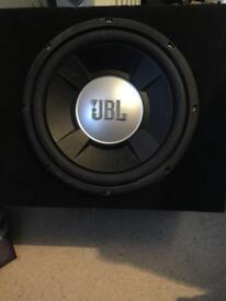 JBL Sub with amp