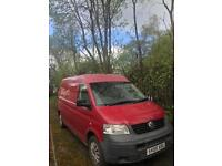Vw t5 , transporter, great runner 5 seats , moted and good to go £4995