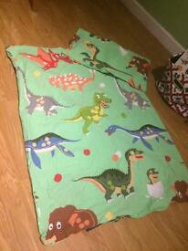 Dinosaur Cot Bed Set (Pillow included)
