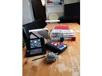 Nintendo 3ds xl black and silver boxed price reduced for quick sale