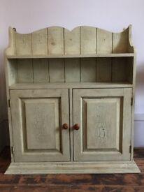 Beautiful green wooden cabinet