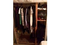 Wooden clothes/shoes organiser - great for storage!