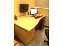 Computer desk and cabinet SOLD !