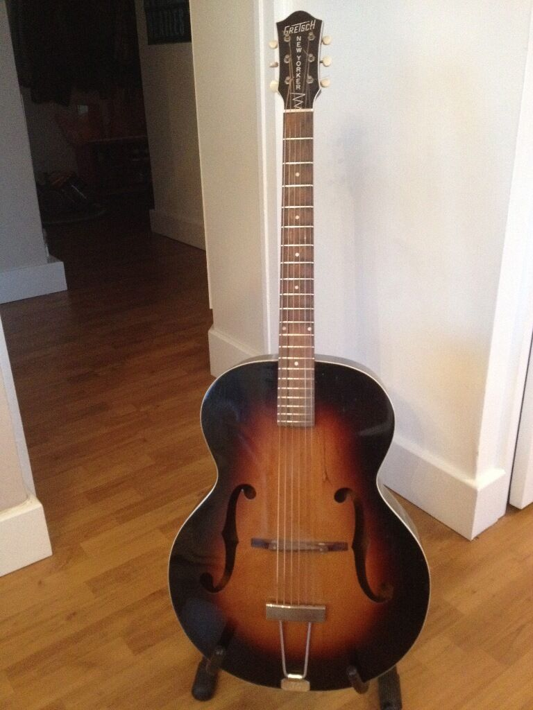1956 Gretsch New Yorker Acoustic Guitar
