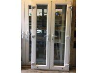 Used upvc French doors