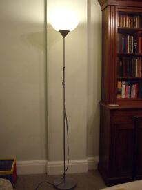 Tall Ikea standard lamp. 1.8m tall