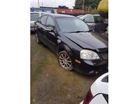 2005 CHEVROLET LACETTI 1.6 16V PETROL BREAKING FOR PARTS