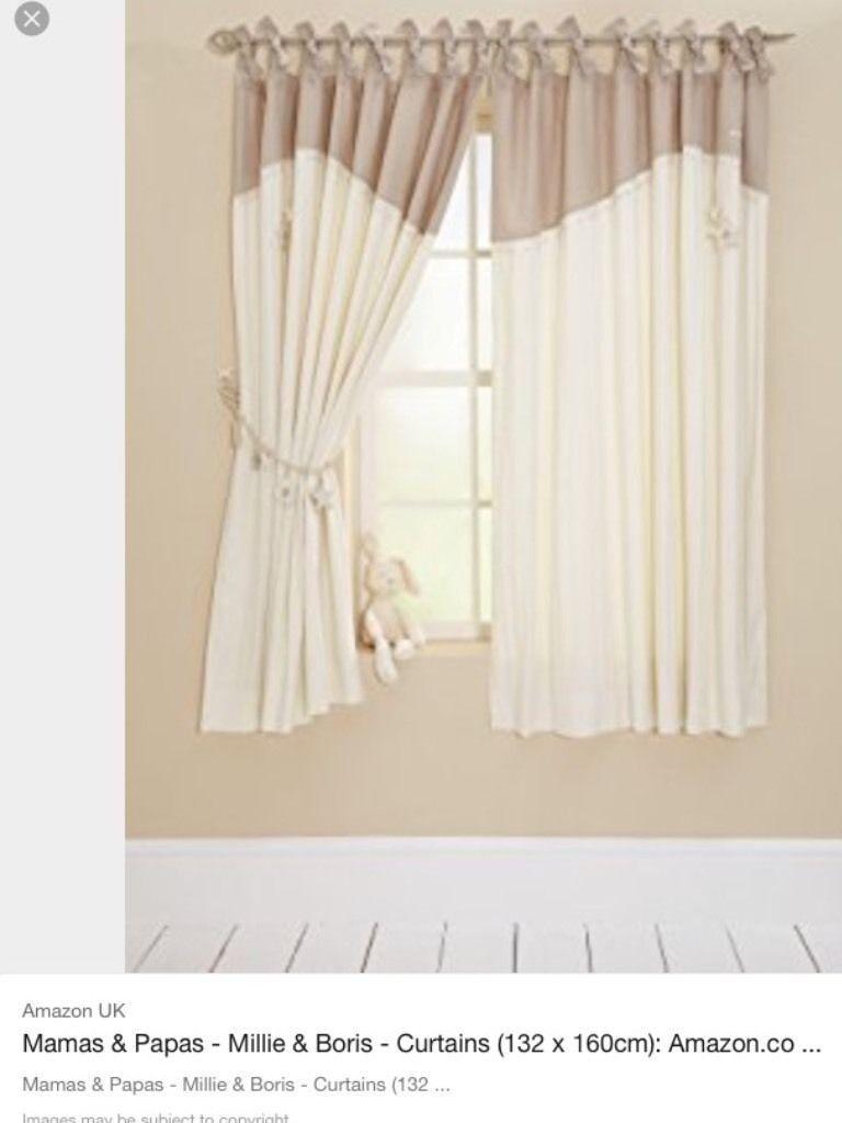 Millie and Boris Curtains