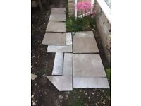 Sandstone - Autumn Brown - 22mm calibrated - New and unused - 4.5 M2 approx.