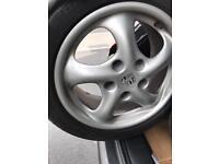 Porsche Wheels turbo twist with great tyres ~