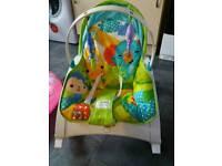 Baby / toddler seat and rocker