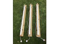 3 Tubular Heaters 4 ft