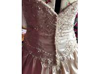 Stunning eternity bride wedding dress