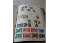 Merton Stamp Album & Stamp Collection