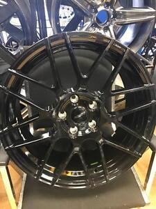 18 INCH FAST RENNEN WHEELS -- 5X110 CLEARANCE SET