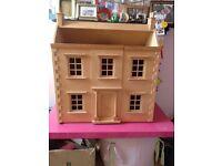 Wonderful Dolls House with all furniture & dolls - £45 ono