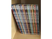 The Walking Dead graphic novels numbers 1-22. Perfect condition