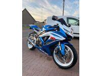 SUZUKI GSXR 600 (not Yamaha Kawasaki Ducati bmw)