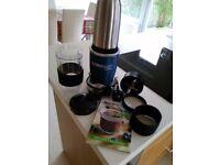 Nutribullet 9 piece 1000 series Juicer Blender colour blue