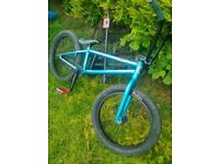 bmx bike mafia kush with nice fat tyres -for sale