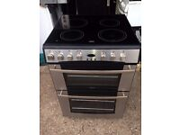 £146.50 belling sls new model ceramic electric cooker+60cm+3 months warranty for £146.50