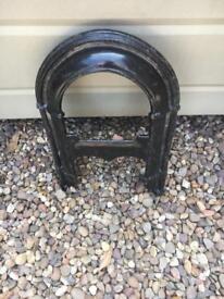 Cast iron boot/shoe scraper