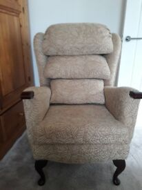 High back waterfall chair - brand new