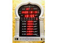 Muslim UK Azan Clock Sounds Alarm Iqamah
