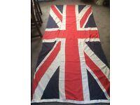 Vintage large Union Jack flag