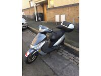 FOR SALE 2012 PEUGEOT V-clic 50cc MOPED ONLY £550