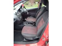 Ford Fiesta Zetec Climate (56 plate, 2006) 1.25 Petrol Red 5 Door Car