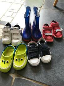 Selection of boys shoes size 6