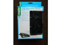 Maplin 120W Slim Laptop Adaptor with USB, code: N63KB nearly new