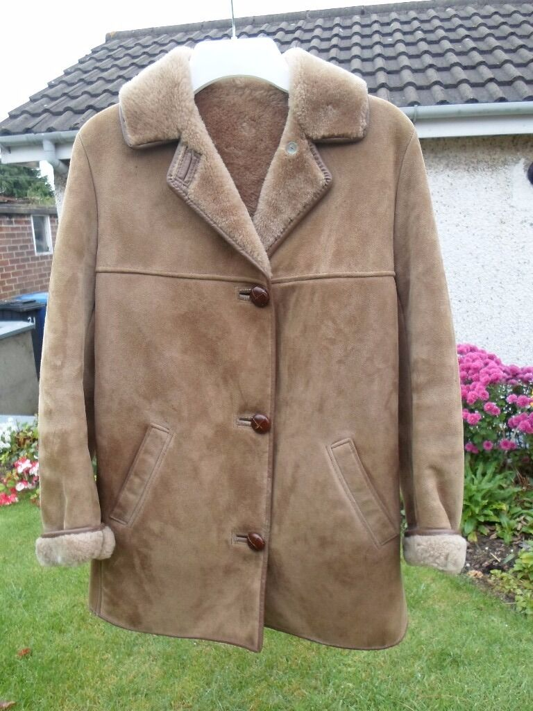 Nursey Sheepskin Jacket | in Killyleagh, County Down | Gumtree
