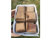 Fence posts tops