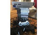 Ps2 3 controllers and 16 games