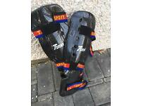 Total sport sparring shin guards