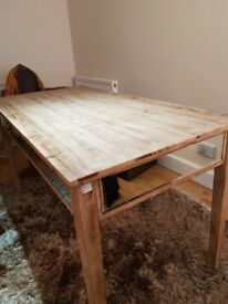 Table for sale. Modern, can be used for dining or desk. New, cost £249 sell £40