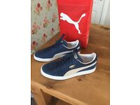 Puma Suade Trainers Boxed (Basically New)