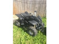 110cc 4 stroke Quad bike, needs fixing up but nothing major to anyone who knows what they are doing!
