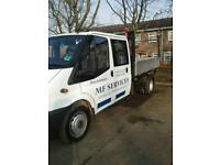 Ford transit tipper 350
