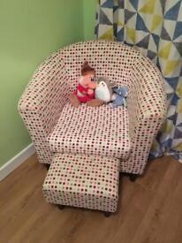 Polkadot Tub Chair