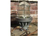 Vintage Gas Walsall Industrial Light