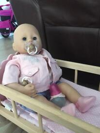Baby Annabell doll and outfits